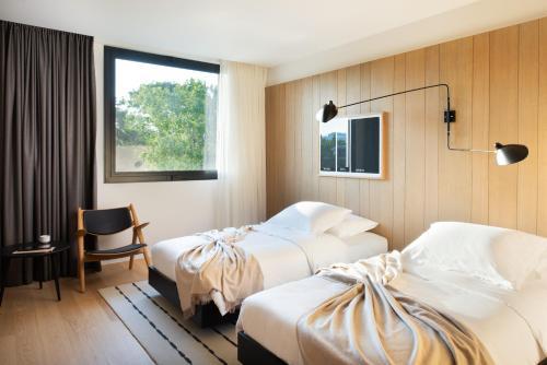 Cama o camas de una habitación en briig boutique hotel