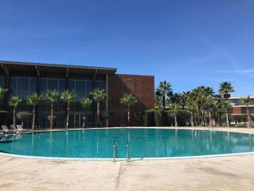 The swimming pool at or near Salgados Beach