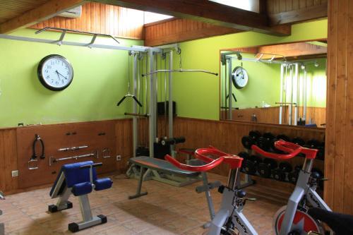 Gimnasio o instalaciones de fitness de La Casona De Entralgo