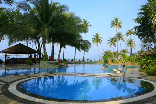 The swimming pool at or near Frangipani Langkawi Resort