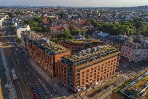 Apgyvendinimo įstaigos Turnau City Aparthotel vaizdas iš viršaus