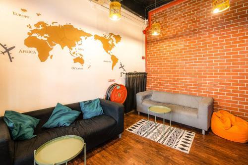 Ein Sitzbereich in der Unterkunft S Inn Chinatown (SG Clean)