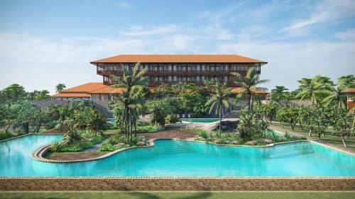 A view of the pool at Cinnamon Bentota Beach - Level 1 Certified or nearby