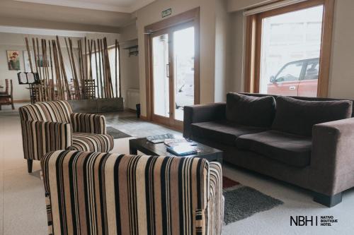 Un lugar para sentarse en Nativo Boutique Hotel