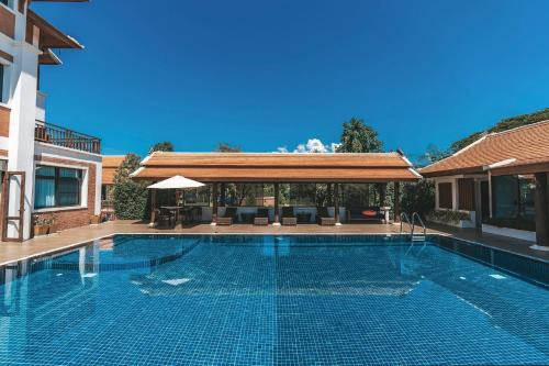 The swimming pool at or near Content Villa Chiangmai