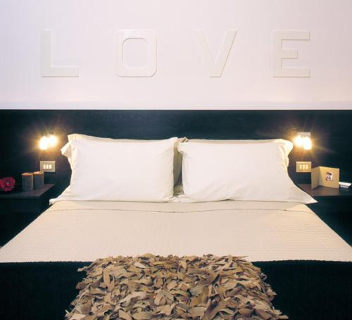 Letto o letti in una camera di Hotel Bianca Vela