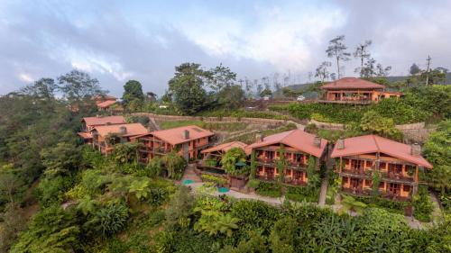 Peace Lodge a vista de pájaro
