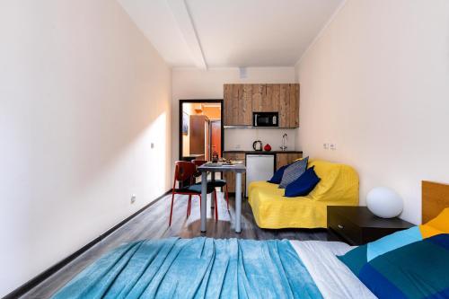 Гостиная зона в Rentalspb Apartment Graf Orlov