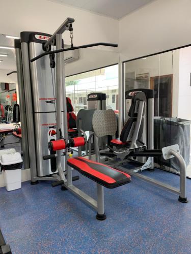 The fitness center and/or fitness facilities at Aquarius Hotel Aquarius