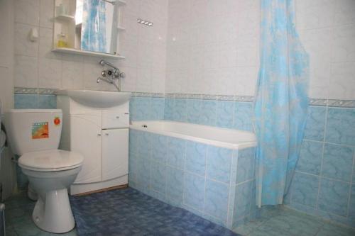 Ванная комната в Гостиница Никопол