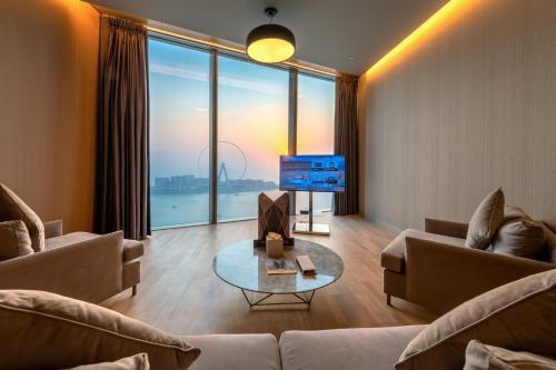 منطقة جلوس في Rixos Premium Dubai JBR