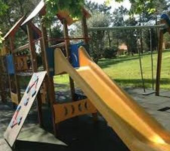 Children's play area at Apartamento 4 - Golf