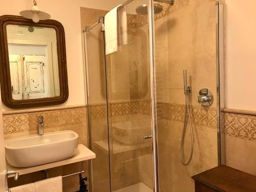 A bathroom at Casa del Pittore