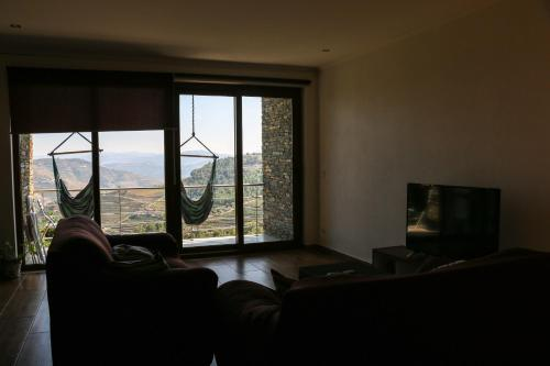 A seating area at Teoria Guest House
