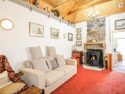 A seating area at Seatown Cottage
