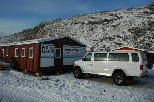 Polar Lodge during the winter