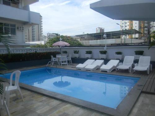 The swimming pool at or near Hotel Slaass