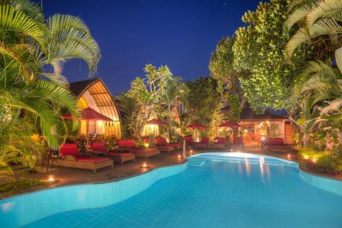 The swimming pool at or close to Klumpu Bali Resort