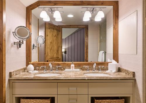 A bathroom at The Sebastian - Vail