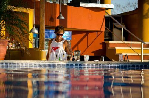 The swimming pool at or near Hotel Vista de Olas