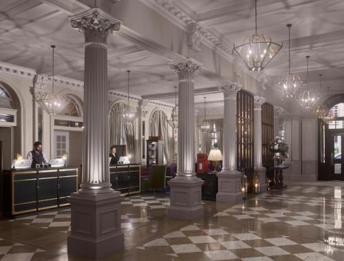 The lobby or reception area at InterContinental Hotels - Edinburgh The George, an IHG Hotel