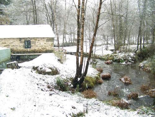 Molino de Louzao during the winter