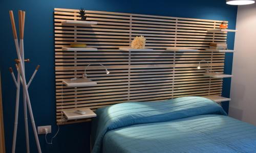 Letto o letti in una camera di INCANTO A CHIAIA