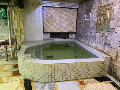 サウナ カプセル ホテル 310の敷地内または近くにあるプール