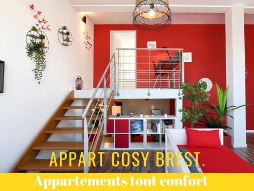Appart Cosy Brest (les Capucins)