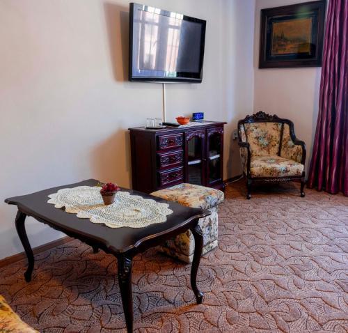 Posedenie v ubytovaní Penzión pod hradom Gelnica