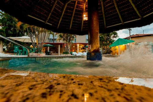 The swimming pool at or near Rio das Pedras Thermas Hotel