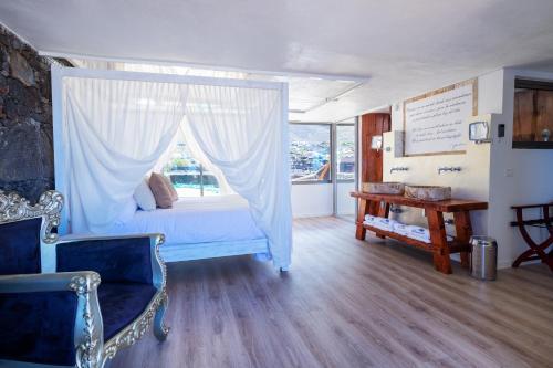 Zona de estar de Hotel Puntagrande