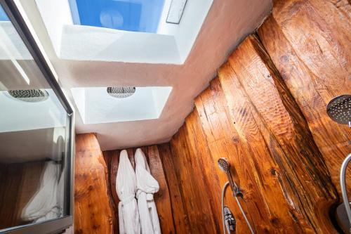 Un baño de Hotel Puntagrande
