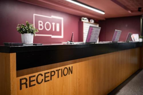 The lobby or reception area at Both Helsinki