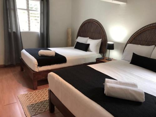 A bed or beds in a room at Casa Reforma