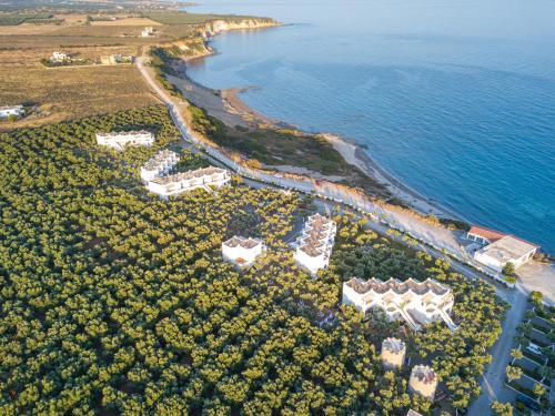 A bird's-eye view of Fata Morgana Studios & Apartments