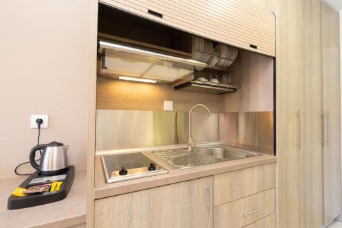 Cucina o angolo cottura di Diamanto Complex