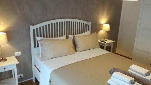 Letto o letti in una camera di Residenza Leon