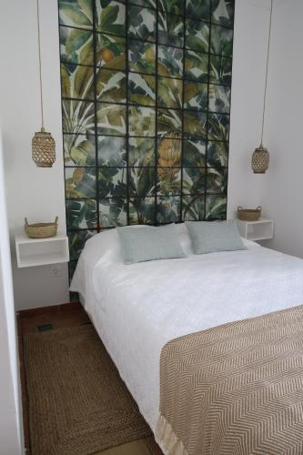 A bed or beds in a room at Azul Sul