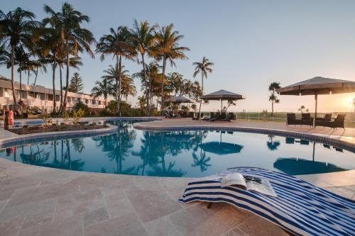The swimming pool at or near Tangalooma Island Resort