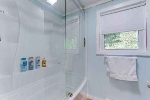 A bathroom at presidents