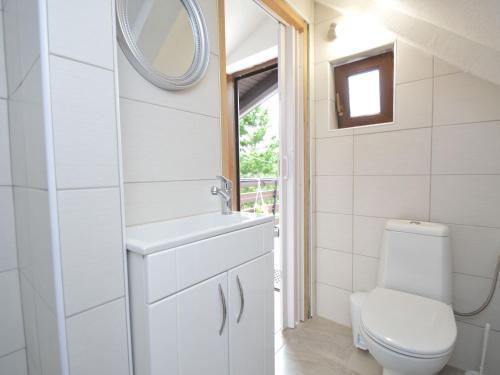 A bathroom at Holiday Home Patrik