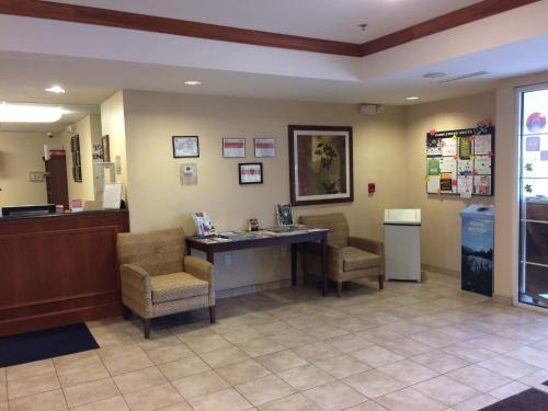 The lobby or reception area at Candlewood Suites Watertown Fort Drum, an IHG Hotel