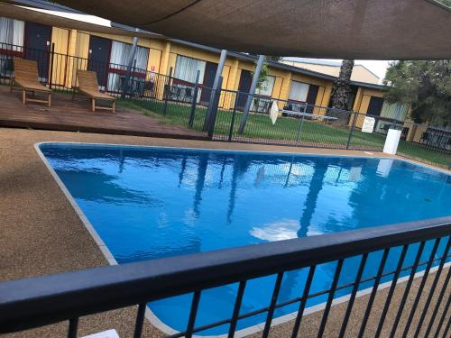The swimming pool at or near Cootamundra Gardens Motel