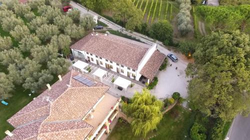 A bird's-eye view of Antica Locanda Della Via Francigena