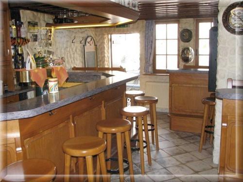 Lounge oder Bar in der Unterkunft Restaurant / Pension Mainzer Tor