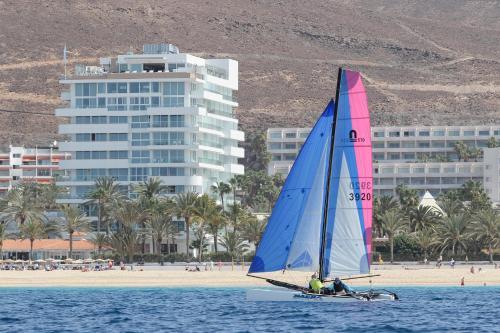 Windsurfen bij het resort of in de buurt