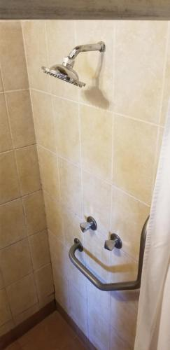 A bathroom at Island Safari Lodge
