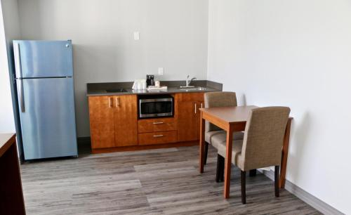 A kitchen or kitchenette at Quality Inn & Suites Watertown Fort Drum