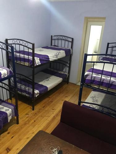 Uma ou mais camas em beliche em um quarto em OVERLAND